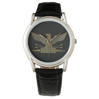 銅の終わりのローマ軍隊のワシ 腕時計