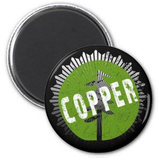 銅の腐食のロゴ マグネット
