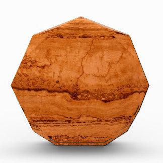 銅の花こう岩 表彰盾