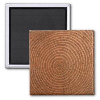 銅の螺線形 マグネット