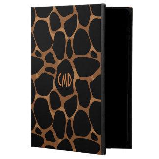 銅はヒョウパターンにある調子を与えます POWIS iPad AIR 2 ケース
