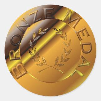 銅メダル ラウンドシール