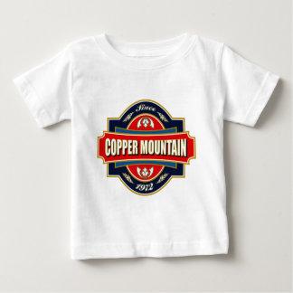銅山の古いラベル ベビーTシャツ