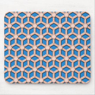 銅IIは六角形のマウスパッドをタイルを張りました マウスパッド