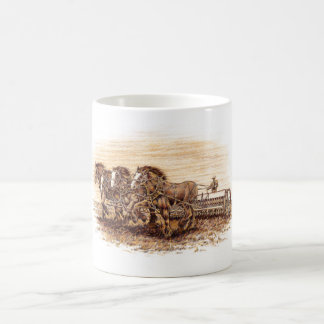鋭いオートムギ コーヒーマグカップ