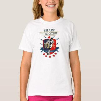 鋭い射手 Tシャツ