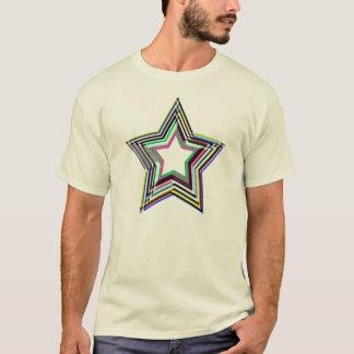 鋭い星のTシャツ Tシャツ