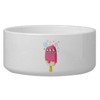 鋭い歯モンスターのアイスクリームのアイスキャンデー