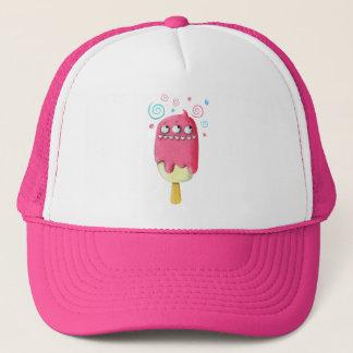 鋭い歯モンスターのアイスクリームのアイスキャンデー キャップ