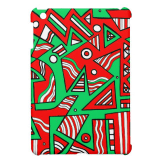 鋭敏なおもしろいな魅了を一致して下さい iPad MINI カバー