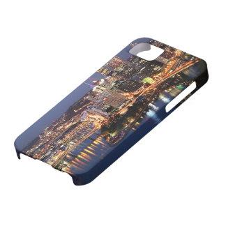 鋼鉄およびインディゴサンドイッチ iPhone SE/5/5s ケース