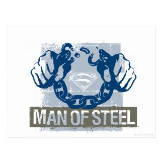 鋼鉄のスーパーマンの人 ポストカード
