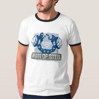 鋼鉄のスーパーマンの人 Tシャツ