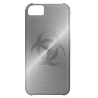 鋼鉄の生物学的災害[有害物質]の記号 iPhone5Cケース