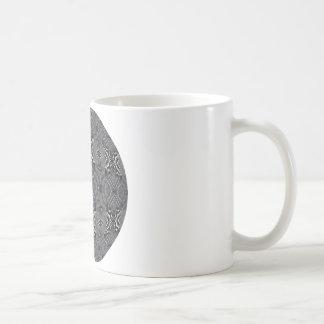 鋼鉄カーブ コーヒーマグカップ