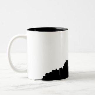 鋼鉄スカイラインのマグ ツートーンマグカップ