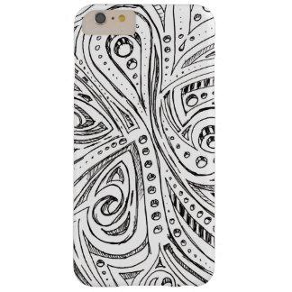 鋼鉄ヘビの落書き BARELY THERE iPhone 6 PLUS ケース