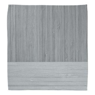 鋼鉄灰色のタケボーダー木製の穀物の一見 バンダナ