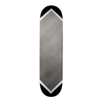鋼鉄灰色の速度の一見の灰色白カスタマイズ可能な2 スケートボード