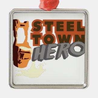鋼鉄町の英雄 メタルオーナメント