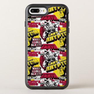 鋼鉄赤くの人および黄色 オッターボックスシンメトリーiPhone 8 PLUS/7 PLUSケース