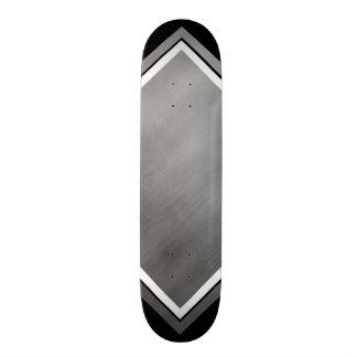 鋼鉄速度の一見の灰色白カスタマイズ可能な1 スケートボード