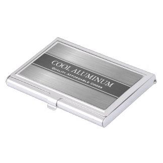鋼鉄/アルミニウム効果の名刺入れ 名刺ケース