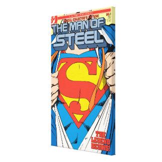 鋼鉄#1コレクターの版の人 キャンバスプリント