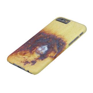錆ついたデザインのプレートのiphone 6sの懸命の場合 barely there iPhone 6 ケース