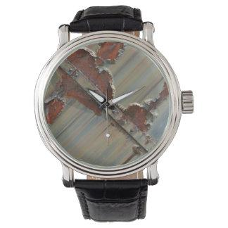 錆ついたヴィンテージ腕時計 腕時計