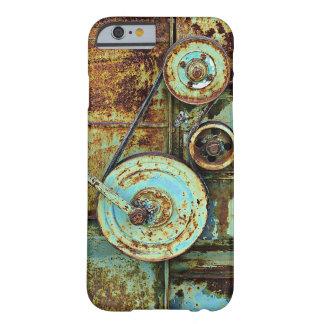錆ついた古い機械ヴィンテージのiPhone 6/6sの場合 Barely There iPhone 6 ケース