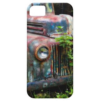 錆ついた古く旧式なトラックのiPhone 5の場合 iPhone SE/5/5s ケース