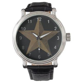 錆ついた星 腕時計