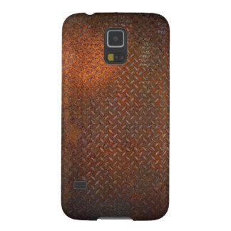 錆ついた点検のプレートSamsungはS5を包装します Galaxy S5 ケース