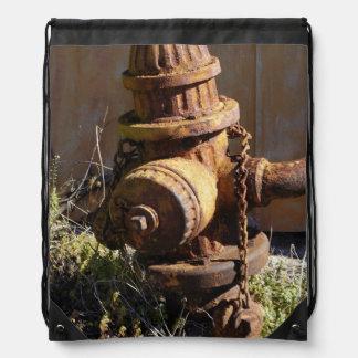 錆ついた給水栓 ナップサック