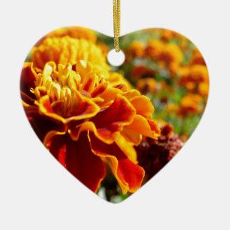 錆ついた花 セラミックオーナメント