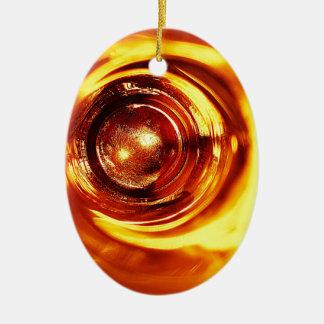 錆ついた茶色の芸術の焼跡の煙の抽象芸術の旧式ながらくたS セラミックオーナメント