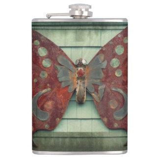 錆ついた蝶 フラスク