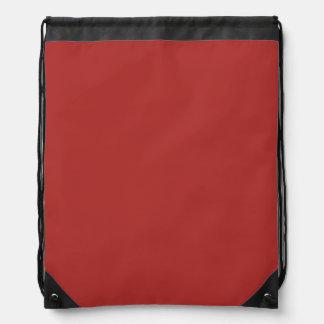 錆ついた赤い(無地の) ~ ナップサック