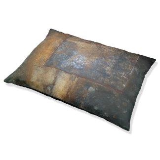錆ついた金属 ペットベッド