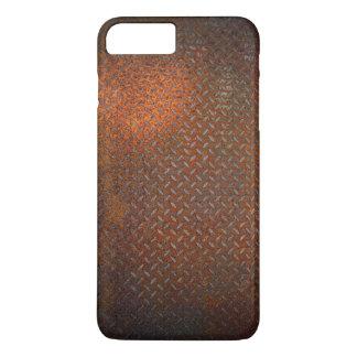 錆つかせた点検のプレートのiPhone 7のプラスの場合 iPhone 8 Plus/7 Plusケース