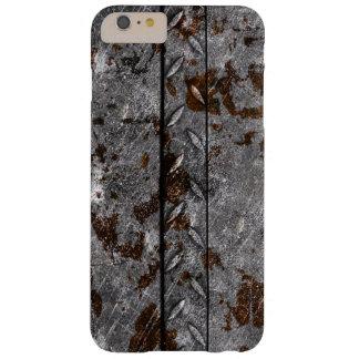 錆つかせた金属のiPhoneの場合 Barely There iPhone 6 Plus ケース