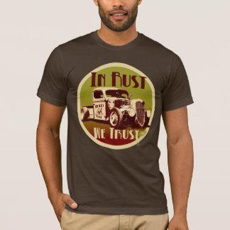 錆で私達はワイシャツを信頼します Tシャツ