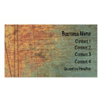 錆のグランジな織り目加工の芸術のウェブサイトの名刺 スタンダード名刺