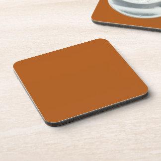 錆のセピア色の茶色 コースター