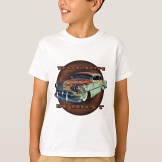 錆の尾Draggerによって切り刻まれるChevyのRollin Tシャツ