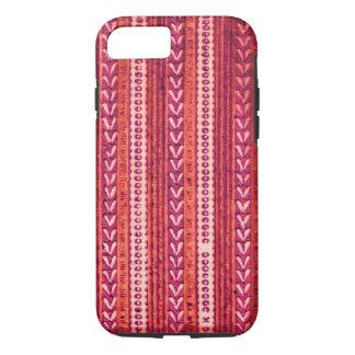 錆の赤いBohoの種族の矢の素朴なボヘミアのジプシー iPhone 8/7ケース