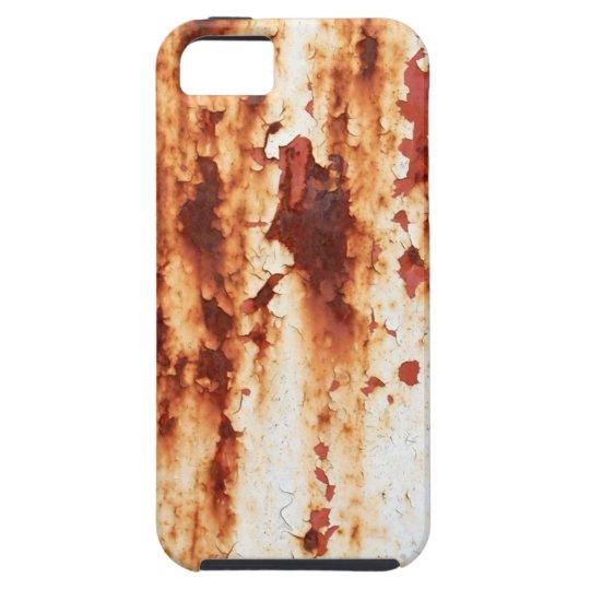 錆びたペンキの鉄板 iPhone SE/5/5s ケース