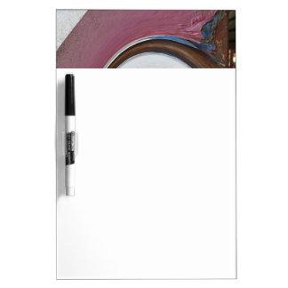 錆またはRost芸術の渦巻01.02.3色 ホワイトボード