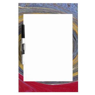 錆またはRost芸術の渦巻01.05色 ホワイトボード